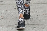 Jessica Hart Canvas Sneakers