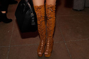 Ashley Tisdale Over the Knee Boots
