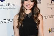 Miranda Cosgrove Fitted Blouse