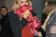 Abbey Clancy Patterned Scarf