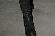 Adam Lambert Lace Up Boots