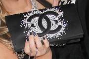 Adrienne Maloof Gemstone Inlaid Clutch