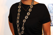 Aisha Tyler Silver Link Necklace