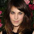 Alexa Chung Medium Straight Cut with Bangs