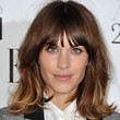 Alexa Chung Hair - Medium Wavy Cut with Bangs