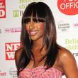 Alexandra Burke Long Straight Cut with Bangs