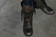 Alexis Knapp Lace Up Boots