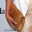 Ali Landry Leather Clutch