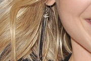 Ali Larter Dangling Diamond Earrings