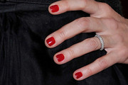 Ali Wentworth Red Nail Polish