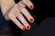 Alice Eve Red Nail Polish