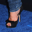 Alison Sweeney Peep Toe Pumps