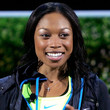 Allyson Felix Long Curls