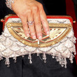Alyson Hannigan Beaded Clutch