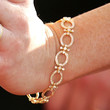 Alyson Hannigan Diamond Bracelet