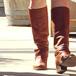 Alyson Hannigan Knee High Boots