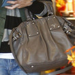 Alyson Hannigan Leather Shoulder Bag