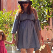 Alyson Hannigan Maternity Dress