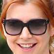 Alyson Hannigan Rectangular Sunglasses