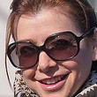 Alyson Hannigan Square Sunglasses