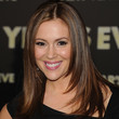 Alyssa Milano Long Straight Cut