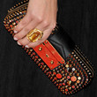 Amaia Salamanca Handbags - Studded Clutch