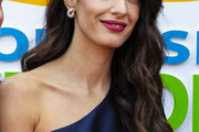 Amal Clooney Long Hairstyles