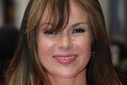 Amanda Holden Medium Straight Cut with Bangs