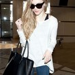 Amanda Seyfried Clothes - Scoopneck Sweater