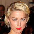 Amber Heard Hair - Bobby Pinned updo