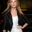 Amber Heard Clothes - Leather Jacket