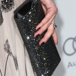 Amber Heard Satin Clutch