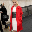 Amber Heard Clothes - Wool Coat
