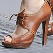 Amy Adams Shoes - High Heel Oxfords