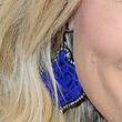 Amy Poehler Jewelry - Dangling Gemstone Earrings