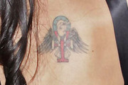 Amy Winehouse Wings Tattoo