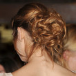 Analeigh Tipton Messy Updo