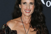 Andie MacDowell Long Hairstyles