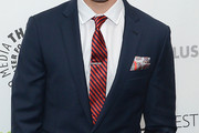 Andrew Rannells Striped Tie