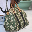 Angela Simmons Handbags - Printed Bowler Bag
