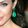 Angelina Jolie Jewelry - Dangling Gemstone Earrings