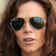 Anna Friel Aviator Sunglasses