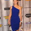 Anna Torv One Shoulder Dress