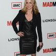 Annabelle Wallis Clothes - Leather Dress