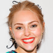 Annasophia Robb Hair - Bobby Pinned updo