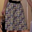 Annasophia Robb Clothes - Knee Length Skirt