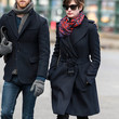 Anne Hathaway Clothes - Wool Coat