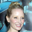 Anne Heche Twisted Bun