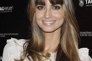 Ariadne Artiles Long Straight Cut with Bangs