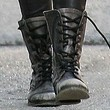 Ashlee Simpson Shoes - Combat Boots